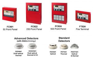 Siemens Fire Alarm and Control Panel Products