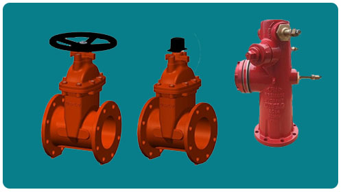 Welflo Gate Valve and Hydrant